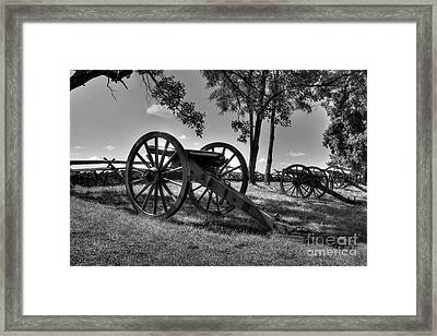 A Country Divided Framed Print