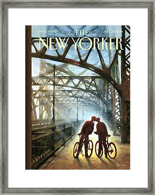 Fifty Ninth Street Bridge Framed Print