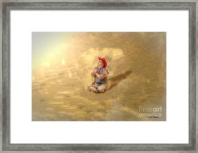 A Cowboy... For Just One Day Framed Print by Dan Stone