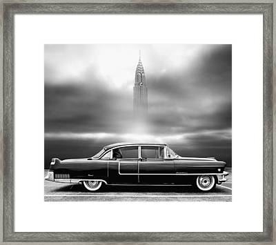 A Crack In The World Framed Print by Larry Butterworth