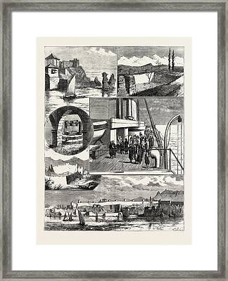 A Cruise Off The Coast Of Karamanili, Asia Minor 1 Framed Print by English School