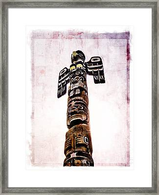 A Cultured Past Framed Print by Roxy Hurtubise