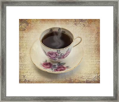 A Cup Of Comfort Framed Print by Betty LaRue