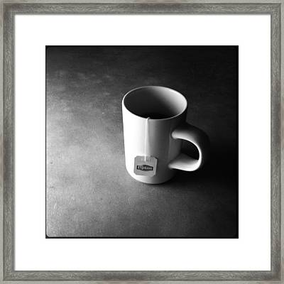 A Cup Of Tea At Night I Framed Print by Marco Oliveira