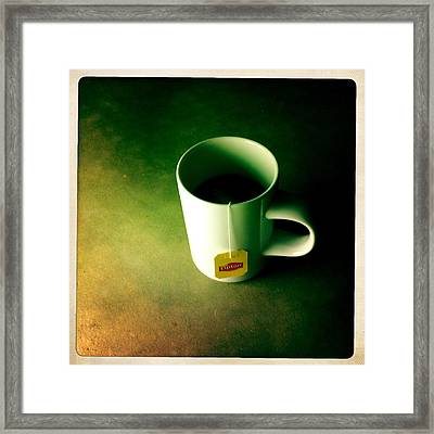 A Cup Of Tea At Night II Framed Print by Marco Oliveira