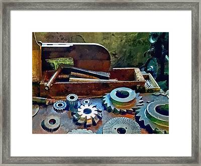 A Cut Above The Rest Framed Print