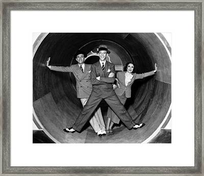 A Damsel In Distress Framed Print by Silver Screen