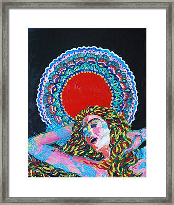 A Dance For Sahasrara Framed Print