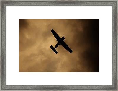 Framed Print featuring the photograph A Dance In The Clouds by Jessica Shelton