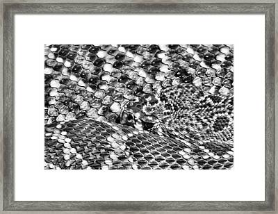 A Dangerous Abstract Framed Print by JC Findley