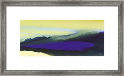 A Dark Momentum Framed Print by The Art of Marsha Charlebois