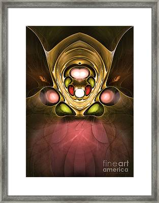 A Dark Secret - Surrealism Framed Print