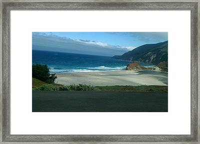 A Day At The Beach Framed Print by James Thornsbury