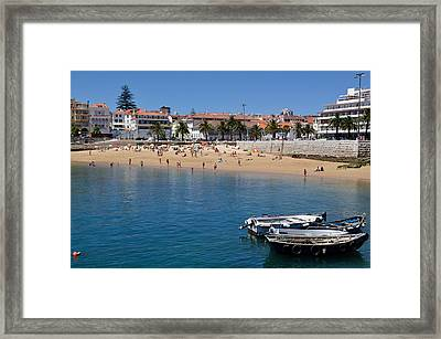 Framed Print featuring the photograph A Day At The Beach by Sandy Molinaro