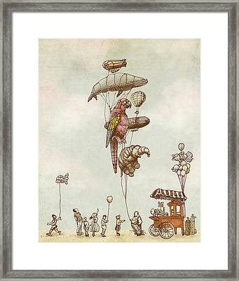 A Day At The Fair Framed Print