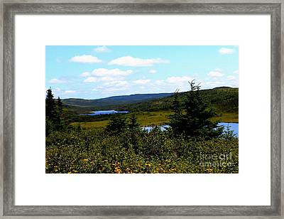 A Day At The Lake - In The Country - Lakes - Fishing Framed Print by Barbara Griffin
