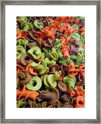 A Day At The Market #21 Framed Print by Robert ONeil