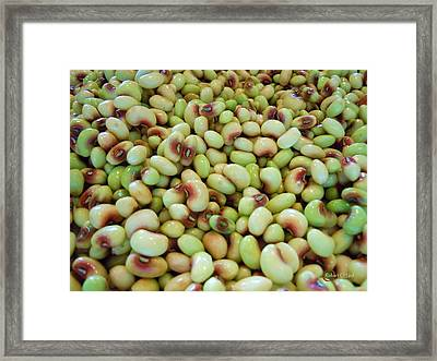 A Day At The Market #9 Framed Print