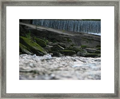 Framed Print featuring the photograph A Day At The River by Michael Krek