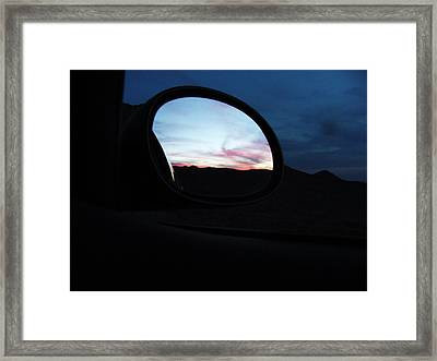 A Day Becoming A Night Framed Print
