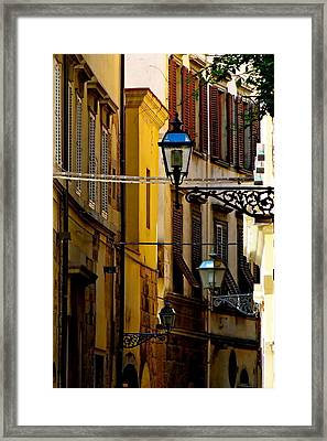 A Day In Florence Framed Print by Ira Shander