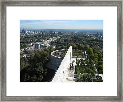 A Day In L.a. Framed Print by Janice Westerberg