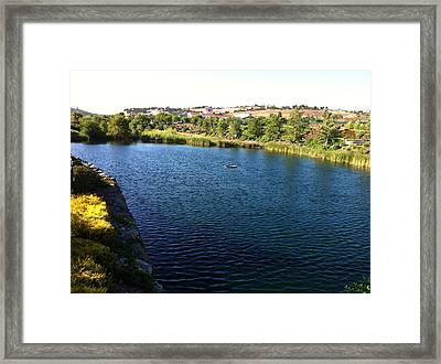 A Day In Paradise Framed Print by Ben Ong