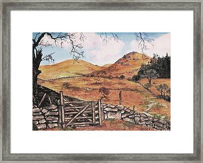 A Day In The Country Framed Print by Sophia Schmierer