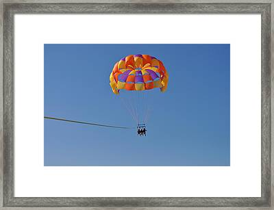 A Day In The Sky Framed Print