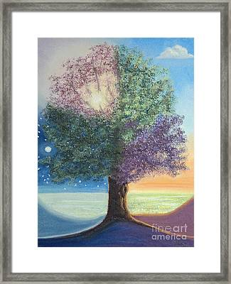 A Day In The Tree Of Life Framed Print