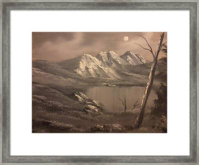 A Day In The Valley Framed Print by Ricky Haug