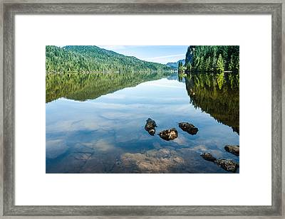 A Day Of Calm - 3 Framed Print
