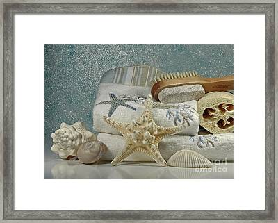 A Day Of Pampering At The Spa Framed Print by Inspired Nature Photography Fine Art Photography