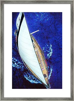 A Day On The Bay Framed Print