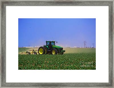 A Day On The Farm Framed Print