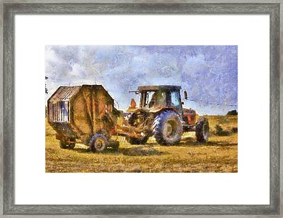 A Day's Work Framed Print by Barry Jones