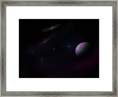 A Dedication To Jacquelyn Framed Print by Ricky Haug