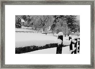 A Deep Winter's Sleep Framed Print by Stephen Hobbs