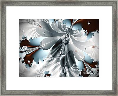 A Deeper Reflection Abstract Art Prints Framed Print