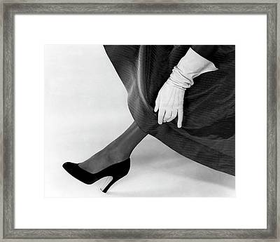 A Deliso Debs Pump Framed Print by Wiliam Grigsby