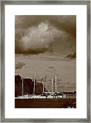 A Delta Storm  Framed Print by Joseph Coulombe