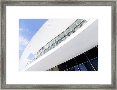 A Different Milan Framed Print by Alfio Finocchiaro