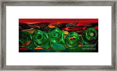 A Different Point Of View Framed Print by Pamela Blizzard