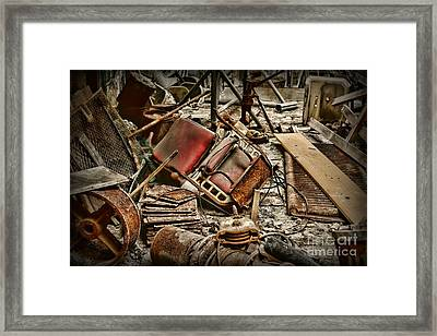 A Disposable Society Framed Print