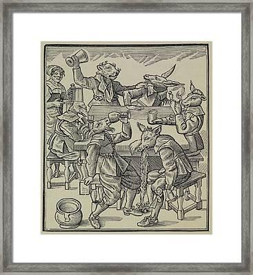 A Donkey Framed Print