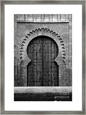 A Door To Glory Framed Print by Syed Aqueel