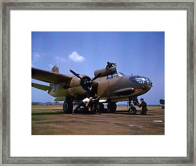 A Douglas A-20c-bo Havoc 1942 Framed Print by Celestial Images