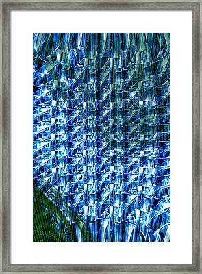Digital Reflections Framed Print by Kellice Swaggerty
