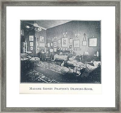 A Drawing Room Framed Print