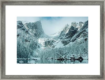 A Dream At Dream Lake Framed Print